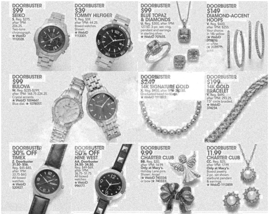 Macy's Black Friday Ad Scan 2013 - Page 41