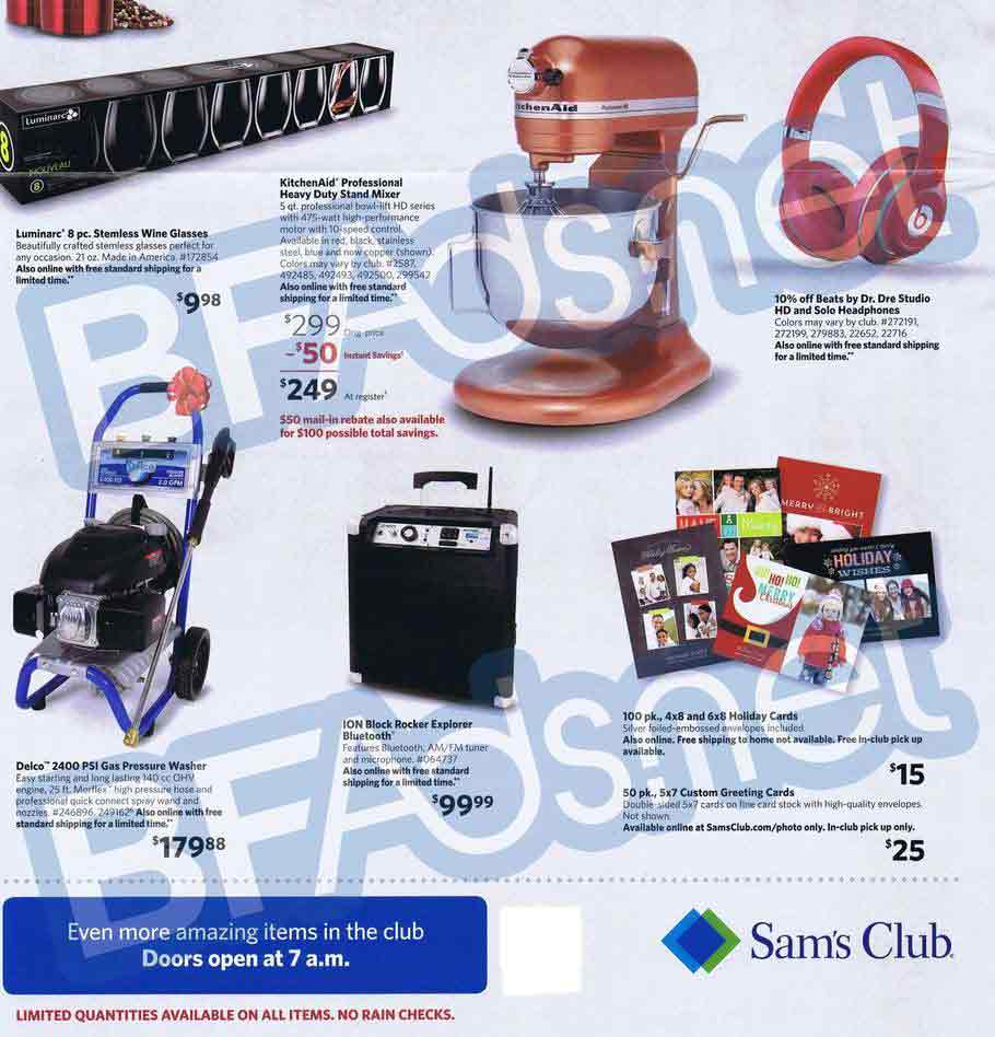 Sams Club Black Friday 12