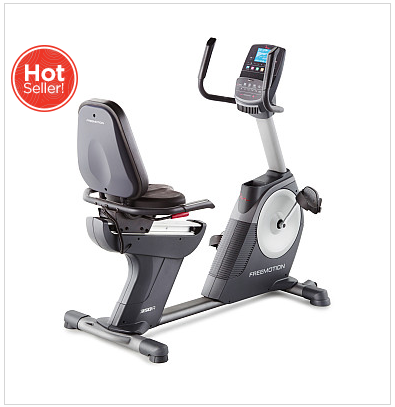 Pedal Away With Deal on FreeMotion 350R Recumbent Bike