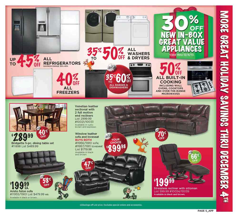 Kitchen Furniture Black Friday: Sears Outlet Black Friday 2013 Ad