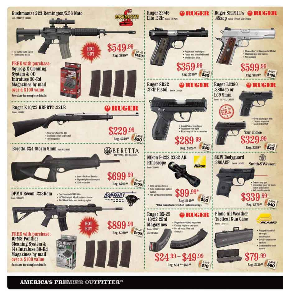 Sportsman Warehouse Black Friday Ad Scan 2013 – Page 2