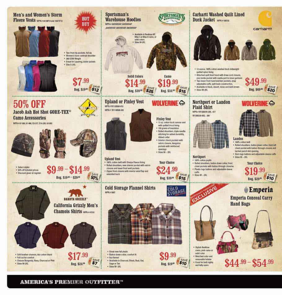 Sportsman Warehouse Black Friday Ad Scan 2013 – Page 6