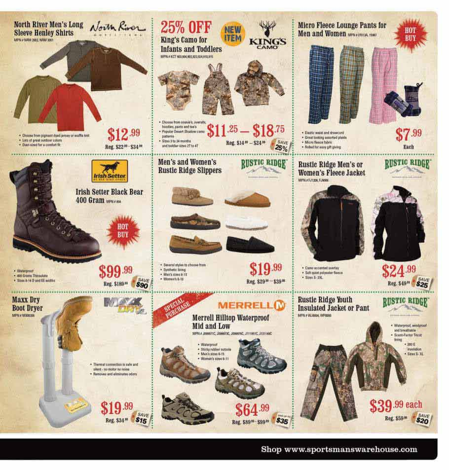Sportsman Warehouse Black Friday Ad Scan 2013 – Page 7