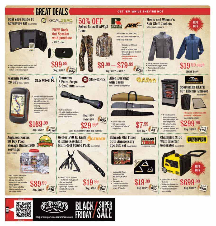 Sportsman Warehouse Black Friday Ad Scan 2013 – Page 8