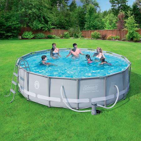 Splashing Deal on Above-Ground Swimming Pool Set - NerdWallet