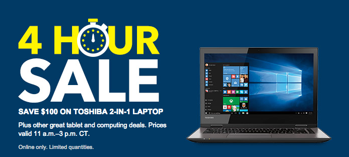 4-Hour Sale at Best Buy