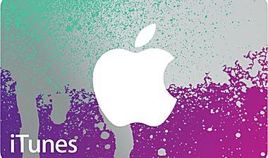 iTunes gift card staples
