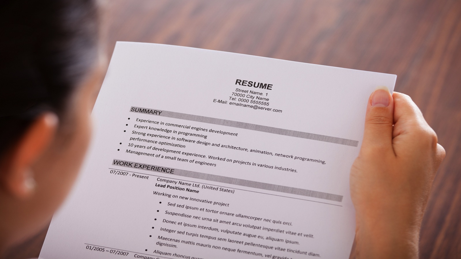Expert Advice: 8 Resume Myths Debunked - NerdWallet