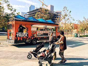 small business merchant cash advance truck