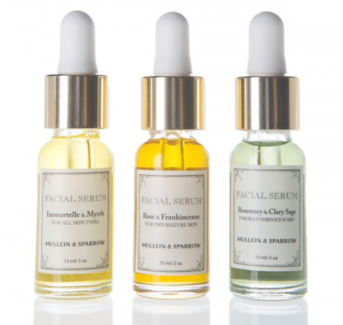Anit Hora's company, Mullein and Sparrow, sells herbal skincare products. Photo Credit: Matt Coch