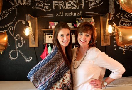 Kaitlin Anderson, left, and her mom, Kerri Anderson. Kaitlin and Kerri co-founded Treat Dreams. Credit: Treat Dreams.