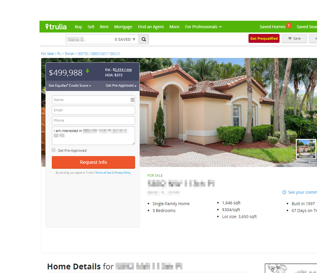 Trulia Real Estate Listings Homes For Sale Housing Data: Trulia Vs. Zillow: Different Looks, Key Similarities