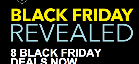Black Friday Deals Available Now at Best Buy