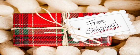 free shipping holiday season