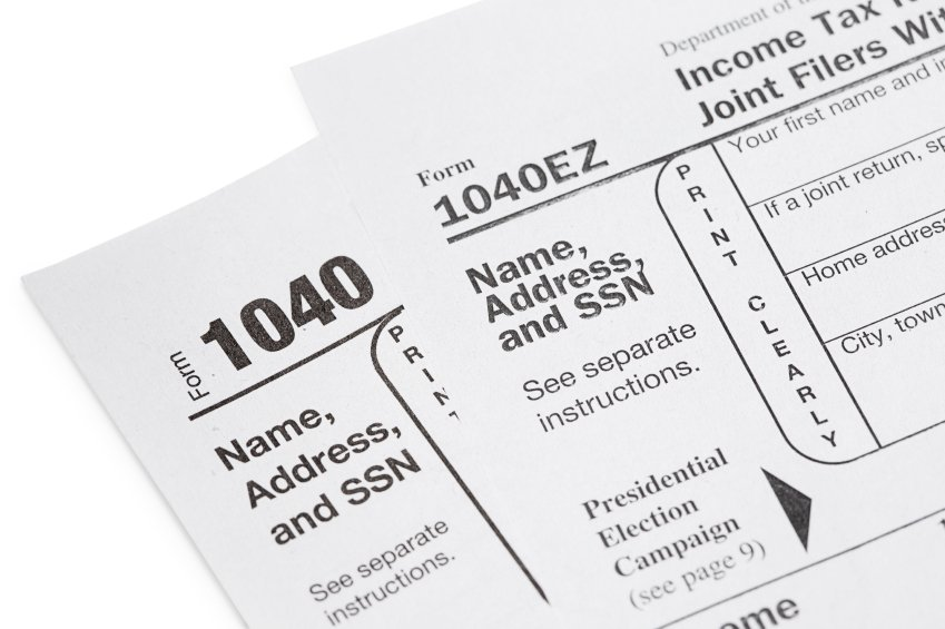1040ez 1040a Or 1040 Deciding Which Tax Form To Use