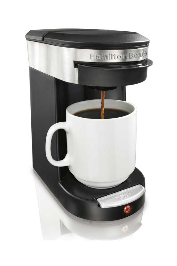 Hamilton Beach Personal Cup One-Cup Pod Brewer (49970)