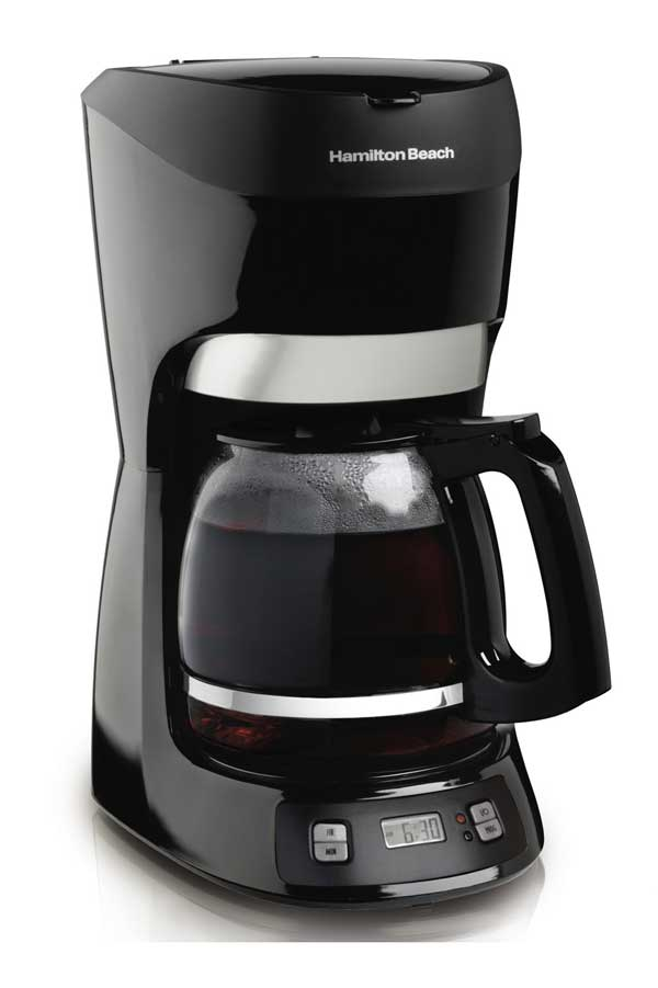 Hamilton Beach 12-Cup Coffee Maker With Digital Clock