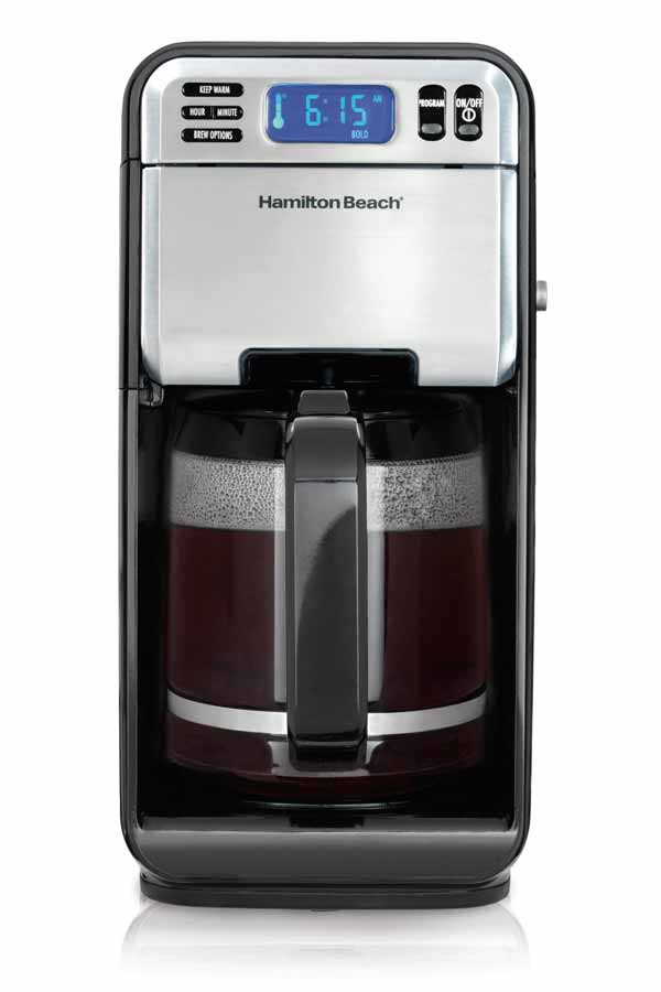 Hamilton Beach 12-Cup Digital Coffee Maker, Stainless Steel