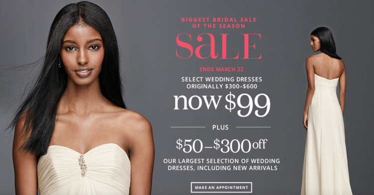 David S Bridal Hosts Biggest Bridal Sale Of The Season