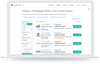 Refinance Rates Today >> Compare Today S Mortgage And Refinance Rates Nerdwallet