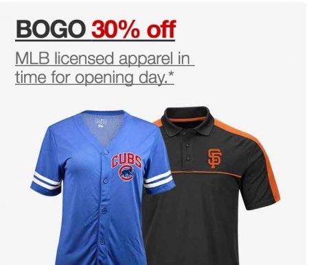 MLB 30% BOGO Target