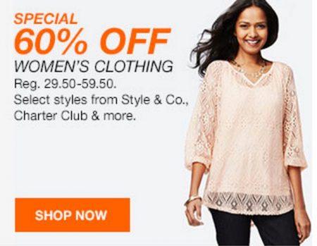 Macys 60% off Womens
