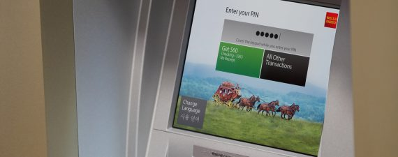 Wells Fargo NFC-enabled ATM