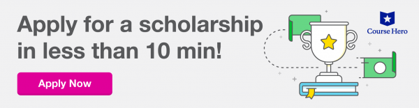 Course Hero Scholarship