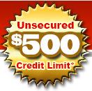 Horizon Gold's $500 Credit Limit Button