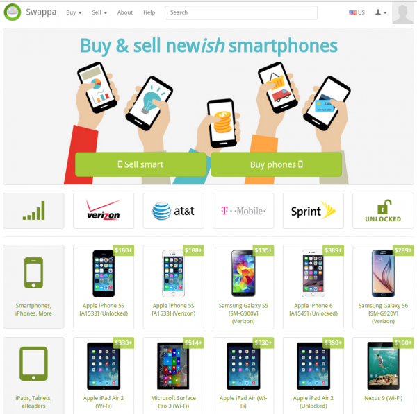 Swappa: Buy and Sell Used Phones