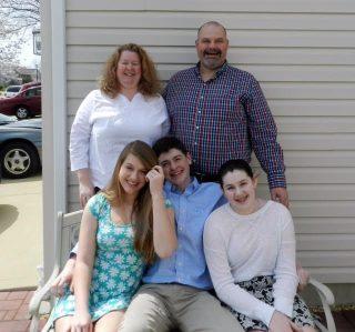 Brett Greer and his family (Photo courtesy of Brett Greer)