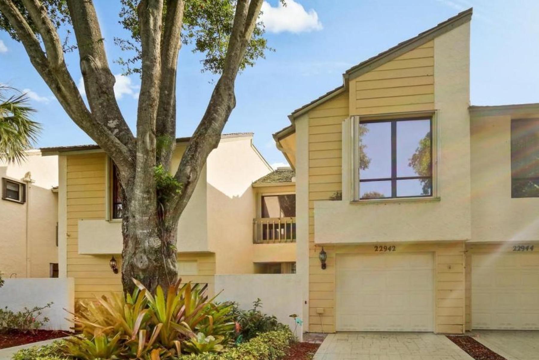Boca Raton, Florida (Miami-Fort Lauderdale-West Palm Beach, FL); list price: $285,000; square footage: 2,078; beds/baths: 3/3