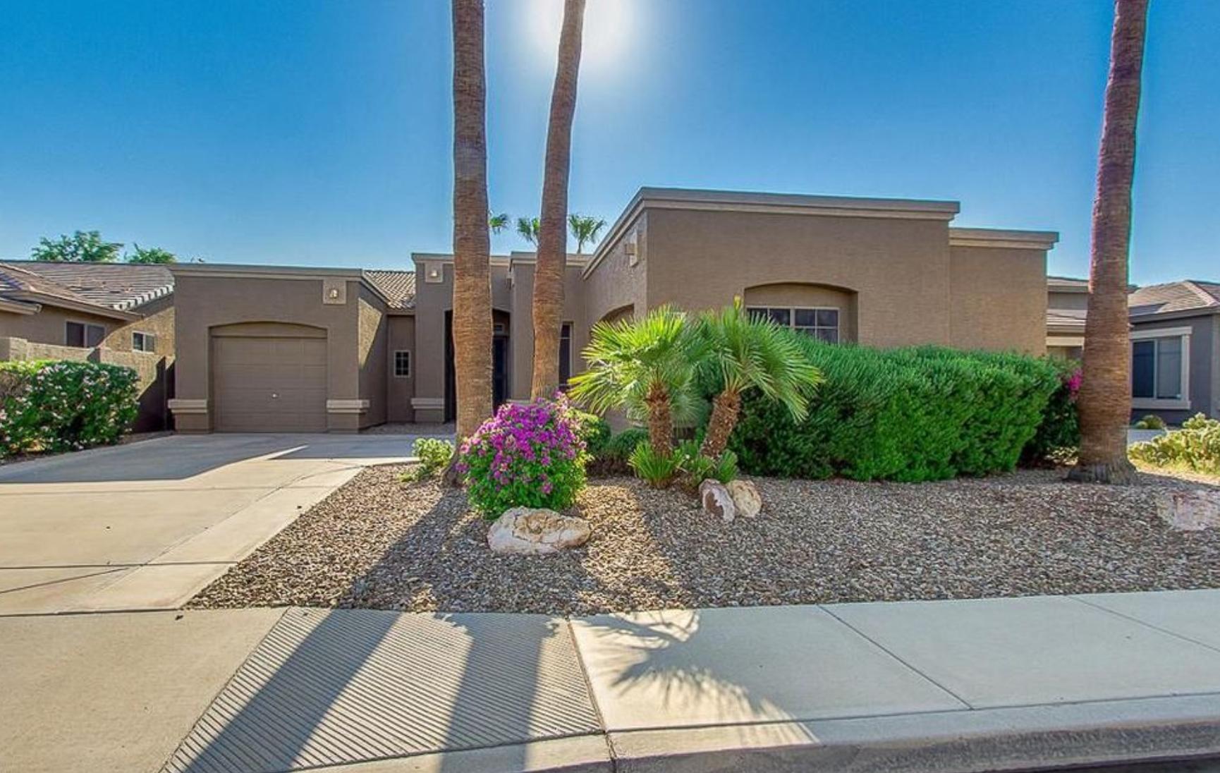 Chandler, Arizona (Phoenix-Mesa-Scottsdale, AZ); list price: $300,000; square footage: 1,954; beds/baths: 3/2