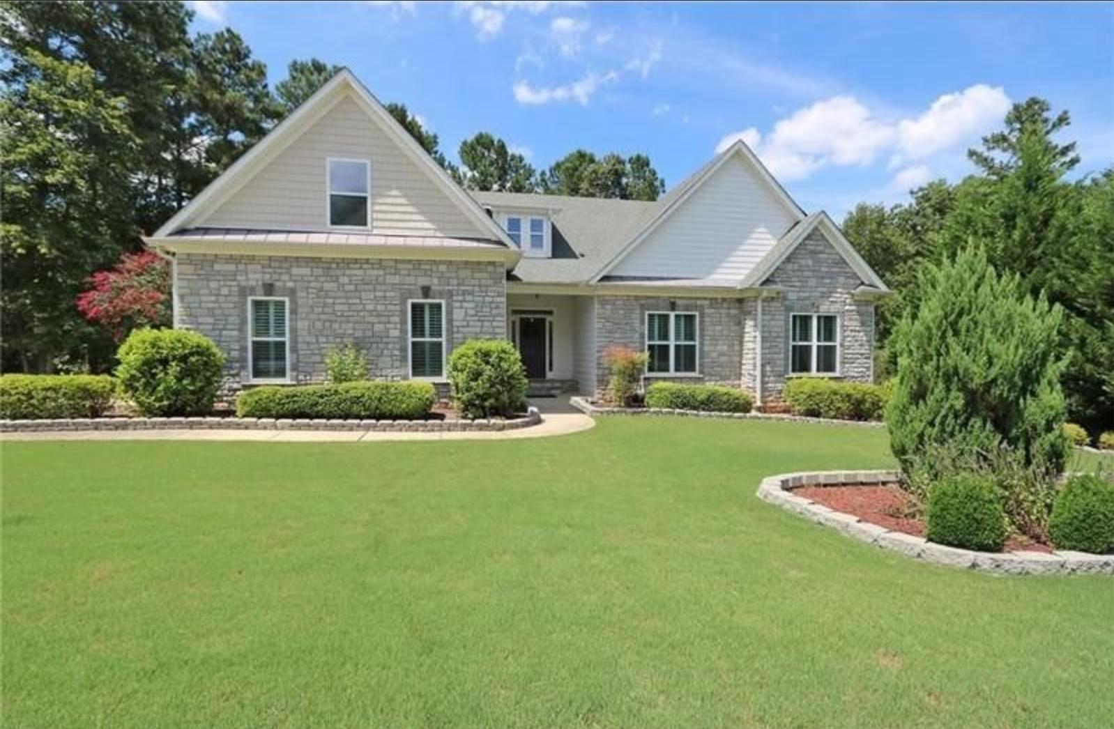 Dallas, Georgia (Atlanta-Sandy Springs-Roswell, GA); list price: $299,900; square footage: 2,932; beds/baths: 4/3.5