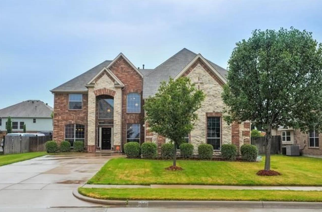 Grand Prairie, Texas (Dallas-Fort Worth, TX); list price: $300,000; square footage: 3,786; beds/baths: 4/2.5