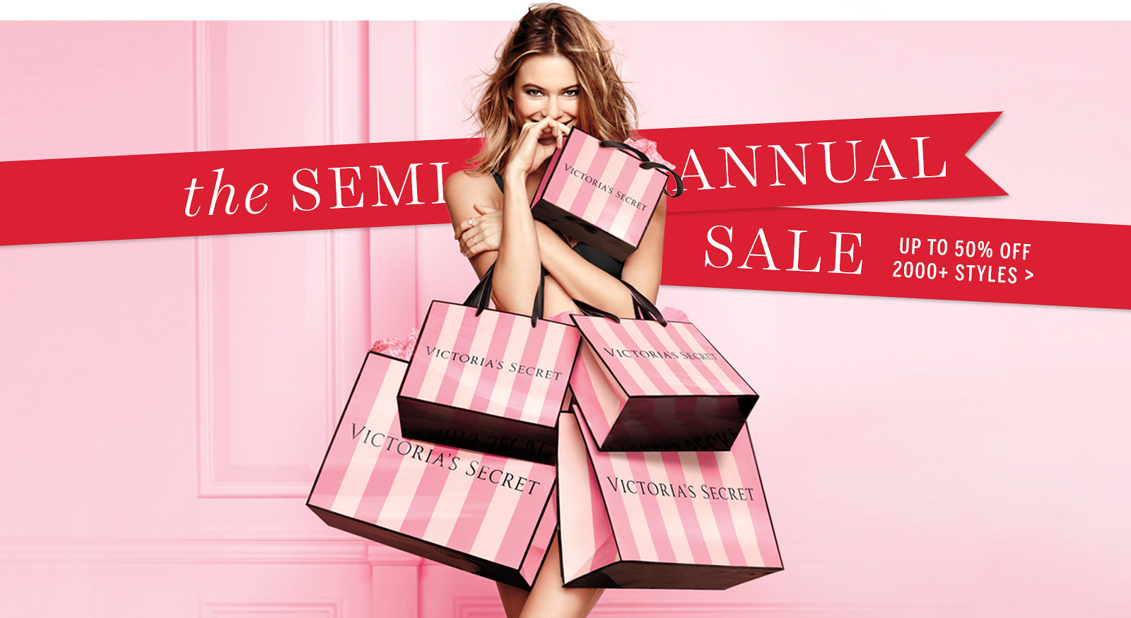 Victoria secret half yearly sale