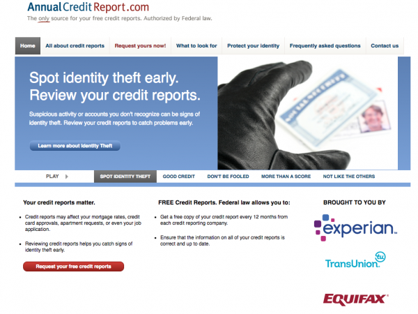 Image result for annual credit report. com images