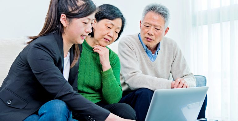 sharing credit with parents