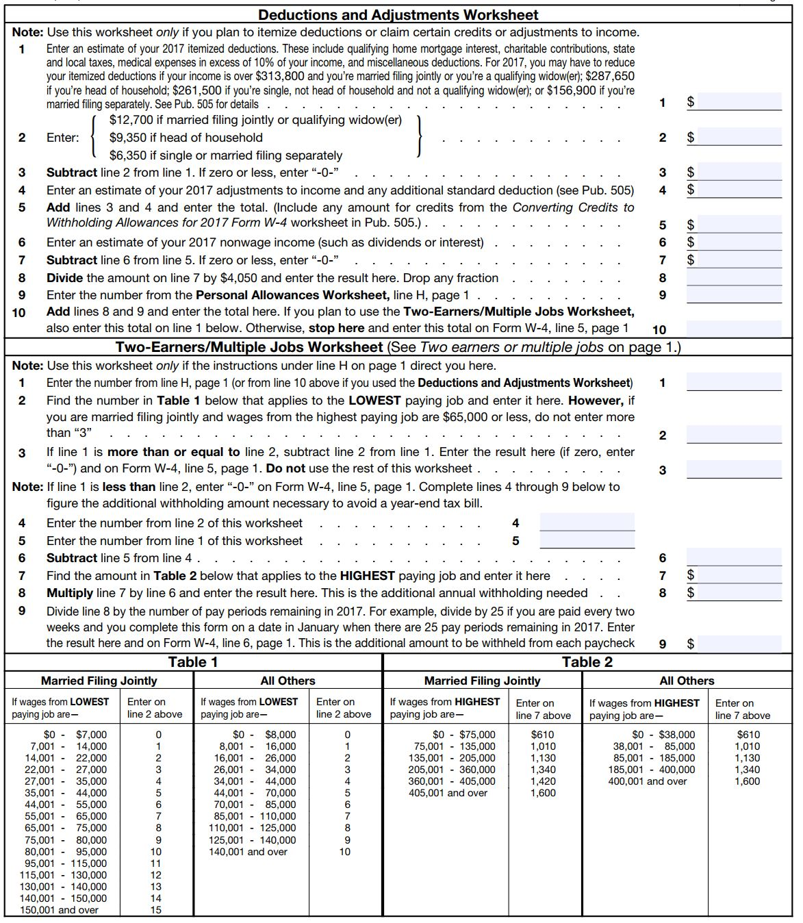 worksheet W 4 Allowances Worksheet how to fill out a w 4 form and decide much claim nerdwallet other two worksheets