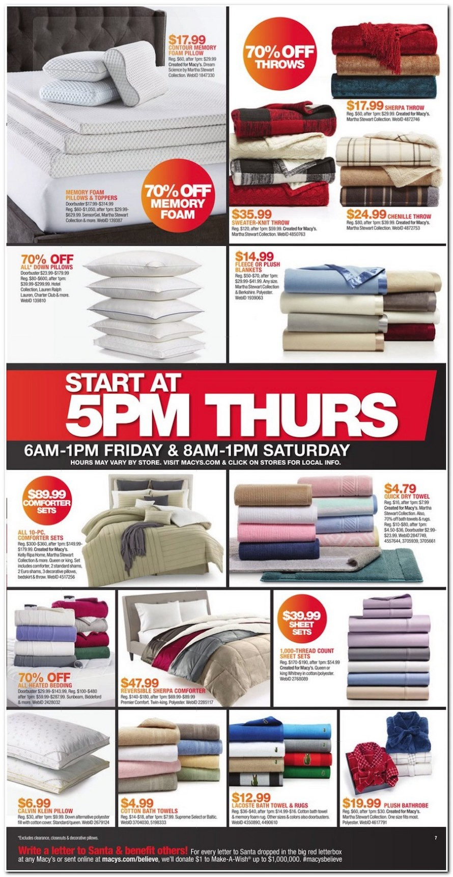 macy�s black friday 2018 ad deals and store hours