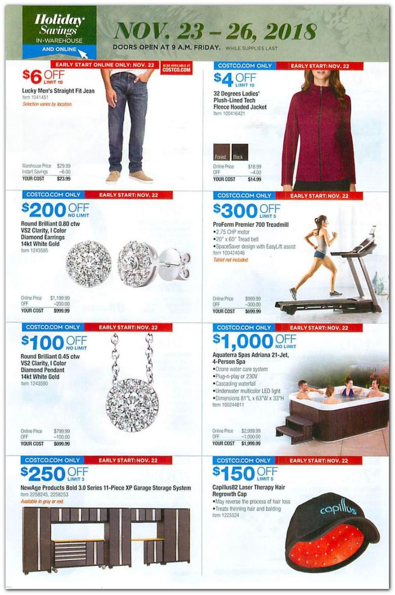 Costco Black Friday 2018 Ad Deals And Store Hours Nerdwallet