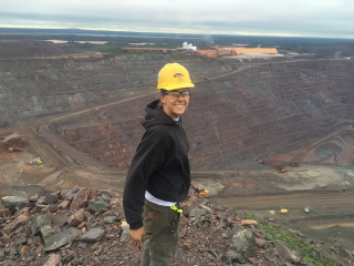 Apprentices like Erin Lakenen skip college — and student debt — for a paycheck from day one, hands-on training and a career that allows them to earn a living anywhere in the country. (Photo courtesy of Erin Lakenen)