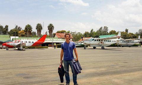 Baron visiting Arusha, Tanzania in 2017.