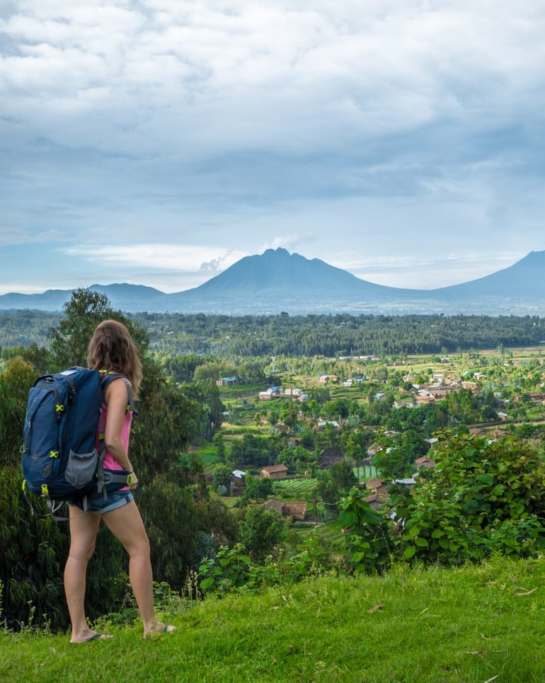 Kristin Addis, CEO of Be My Travel Muse, travels with just a backpack. (Photo courtesy of Kristin Addis.)