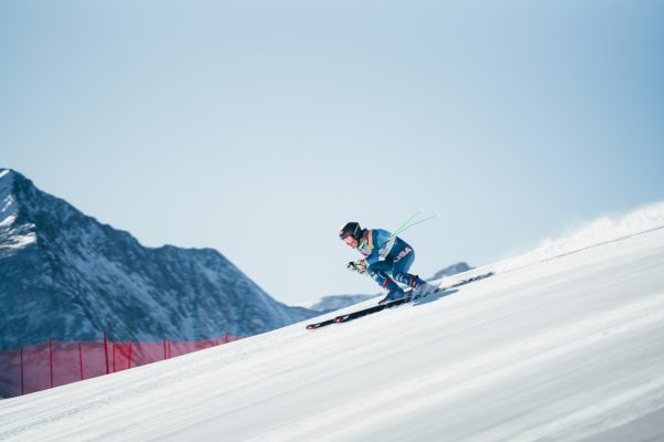 Alpine skier Stacey Cook is competing in Pyeongchang with the help of sponsorships. (Photo credit: © Troy Tully)
