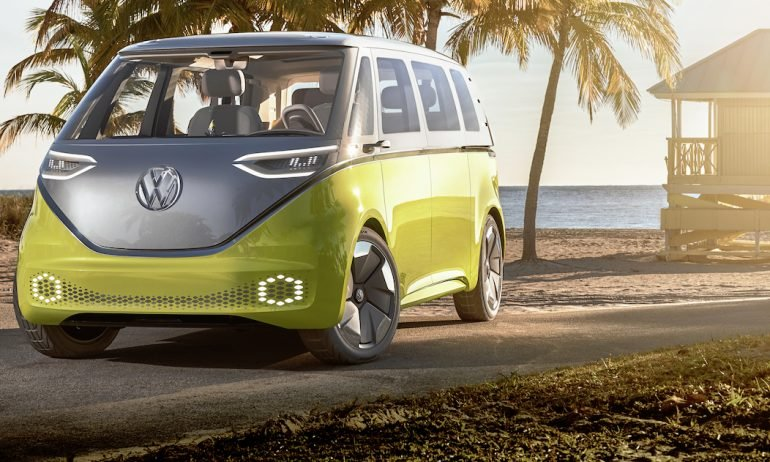 VW Wants to Plug Into Nostalgia With New Electric Bus