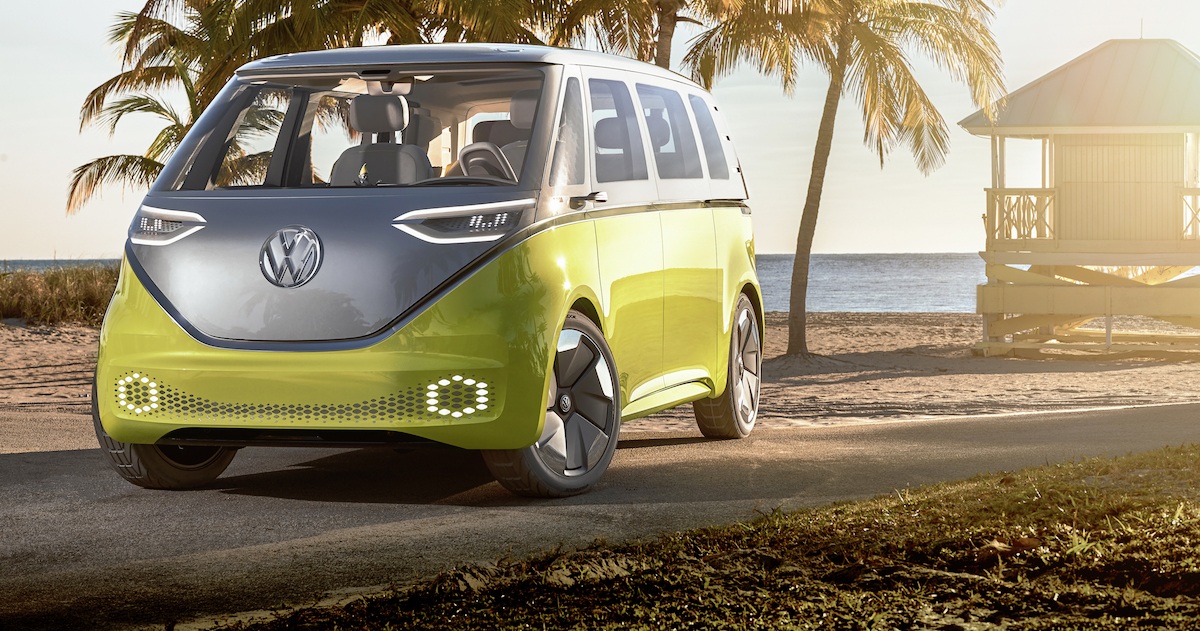 Vw Aims To Plug Into Nostalgia With Electric Microbus Nerdwallet
