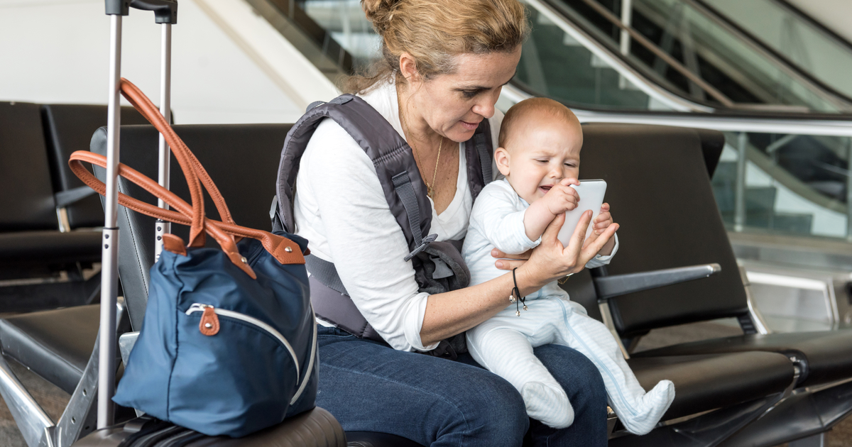 How To Fly With Your Baby Nerdwallet