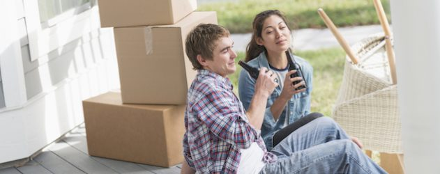 Selling some of your possessions before you move can generate cash.