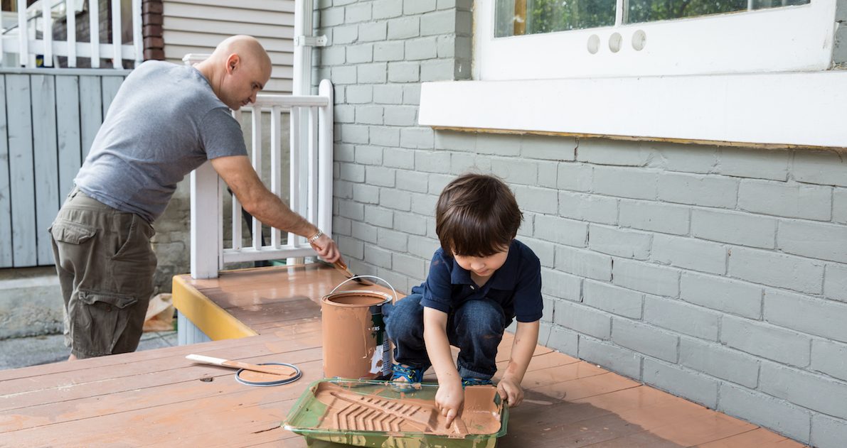 6 tips to save on the cost to paint a house nerdwallet - Cost to paint house exterior trim ...